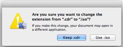 Fácil conversión de CDR a ISO