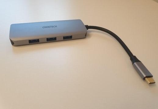 Revisión del adaptador Choetech USB-C y HDMI 7 en 1 HUB