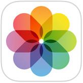 Ícono de foto de iOS
