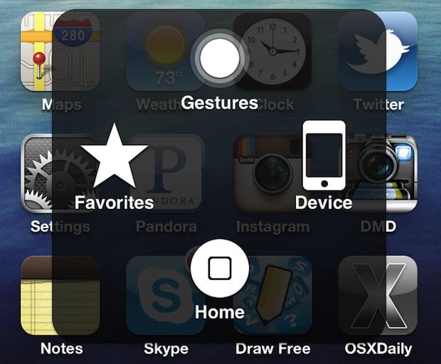 Active un botón de inicio de software en iOS si el botón de inicio está roto