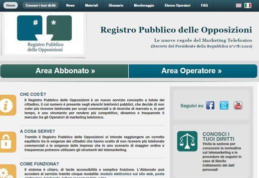 Registro Público de Oposiciones