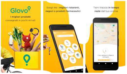 aplicación de compra de comestibles