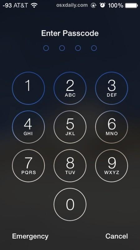 Bloquea un iPhone y haz que borre todos los datos con la entrada de contraseña incorrecta