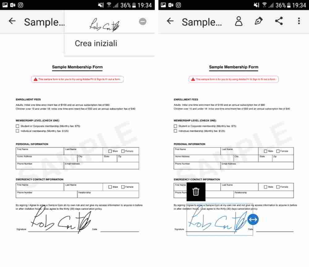 firmar documentos pdf mac
