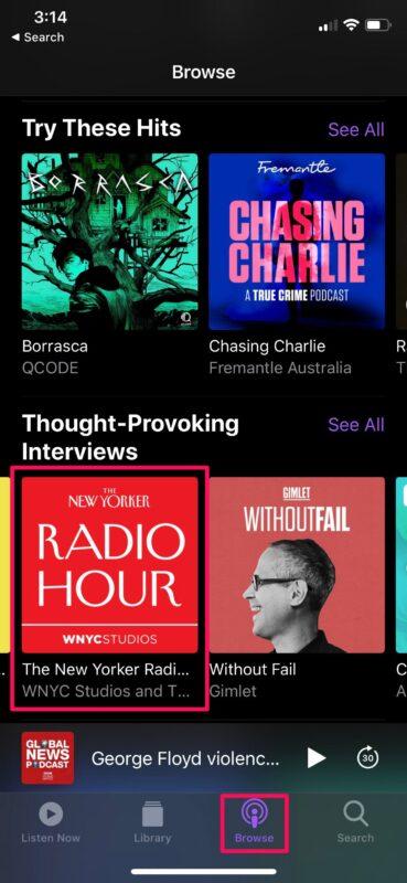 Cómo descargar podcasts en iPhone para escucharlos sin conexión