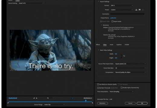 aplicación de edición de video