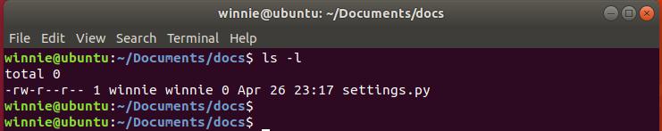 grupo de cambio de comando chgrp linux