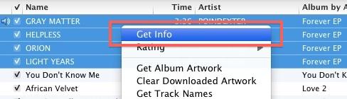 Obtener información en iTunes