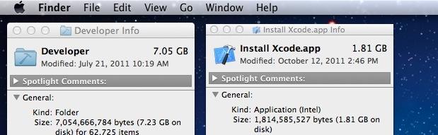 Desinstalar Xcode