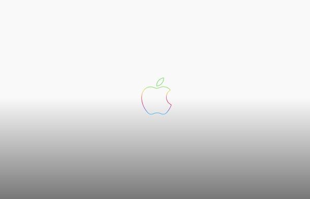 arcoiris-manzana-logo-aniversario-gris-papel tapiz