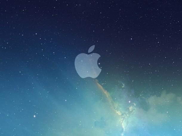 apple-logo-galaxy-wallpaper