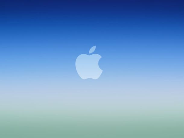 azul-ios-degradado-logotipo de manzana