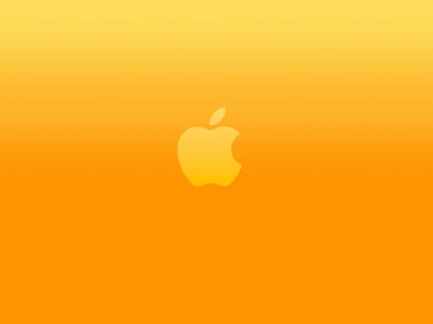 logo-naranja-brillante-manzana
