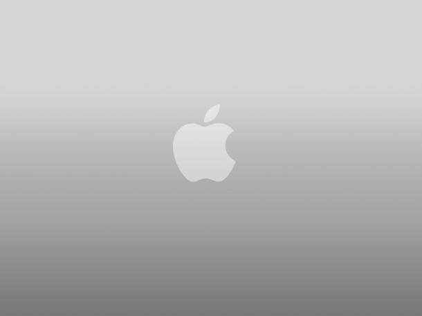 papel pintado de aluminio-apple-logo