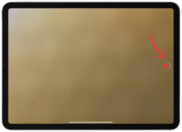 Dejar de grabar videos de lapso de tiempo en iPad