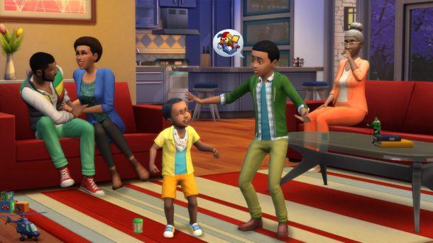 Captura de pantalla de Los Sims 4