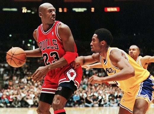 Michael Jordan con los Chicago Bulls