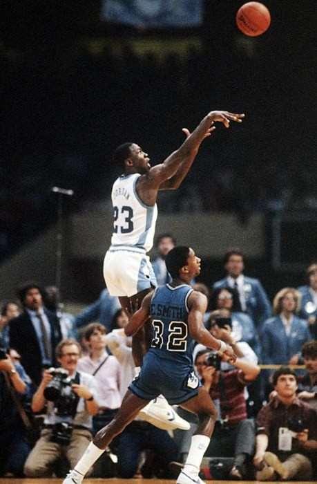 Michael Jordan muy joven