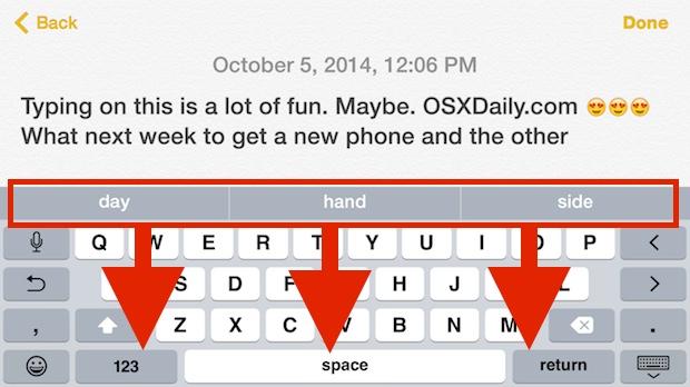 Ocultar la barra QuickType en su teclado iOS