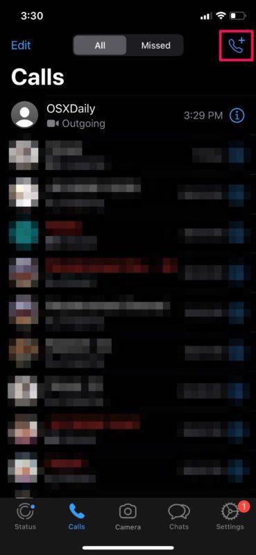 Cómo hacer videollamadas con WhatsApp en iPhone
