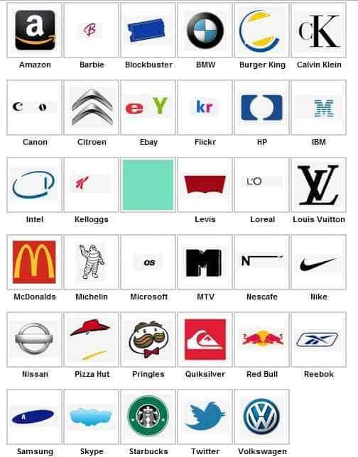 Prueba de logotipos de nivel 1 iPhone