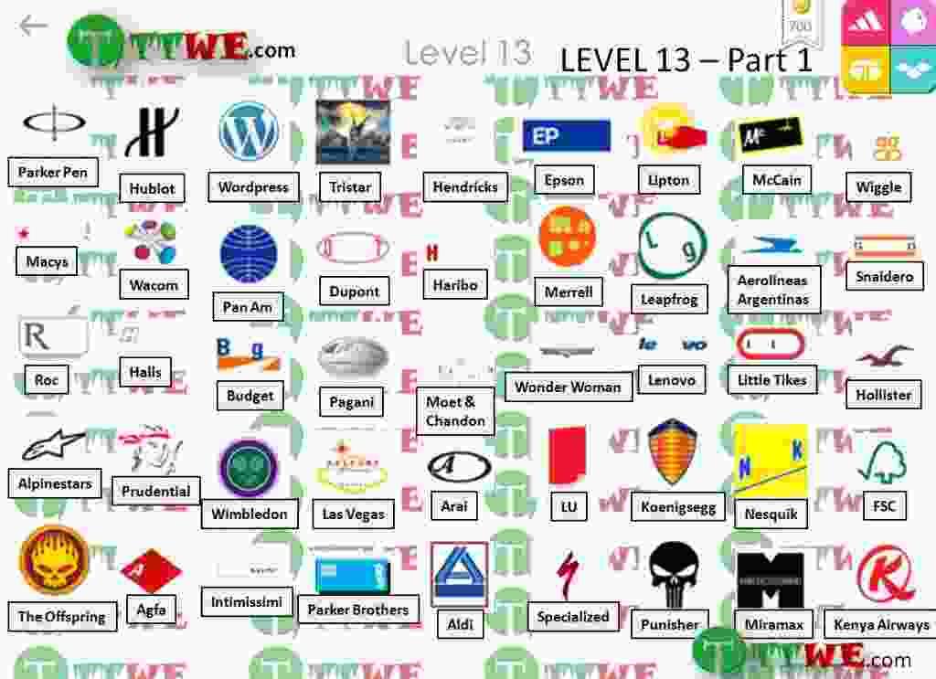 Nivel 13 Parte 1 Logo Quiz iPhone