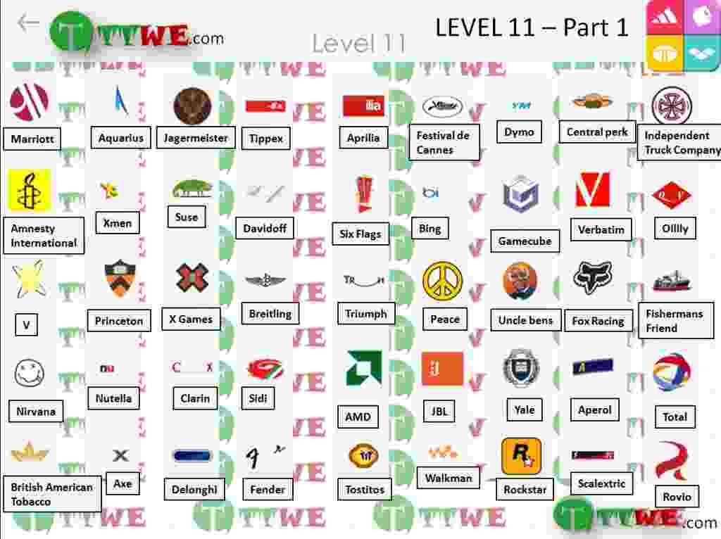 Nivel 11 Parte 1 Logo Quiz iPhone