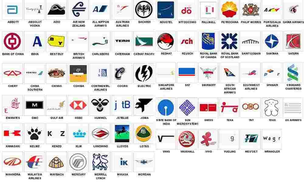 Prueba de logotipos de nivel 8 iPhone