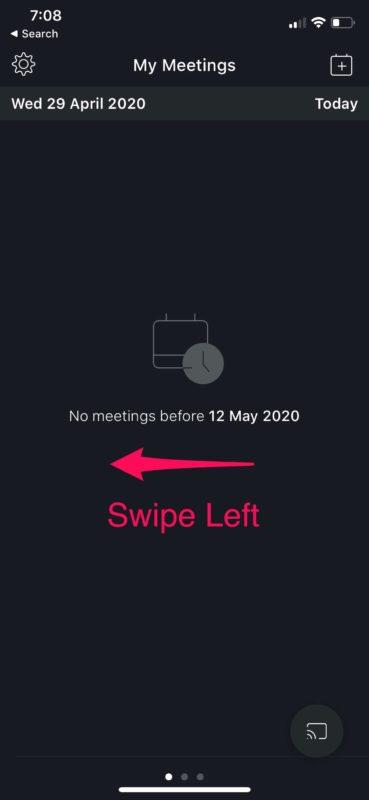 Cómo utilizar las reuniones de videoconferencia de Webex en iPhone y iPad