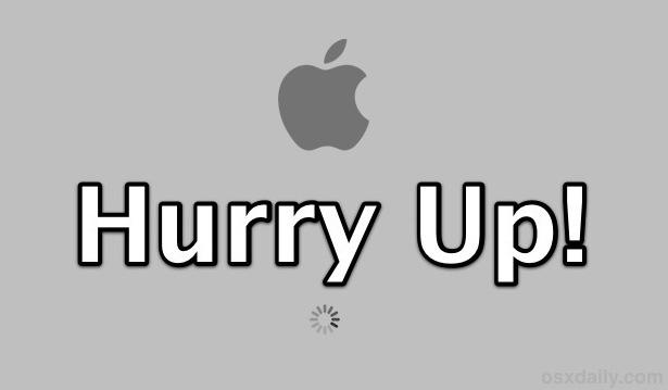 Acelere el tiempo de inicio de su Mac