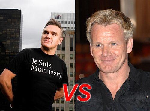 Ramsay contra Morrissey de los Smiths