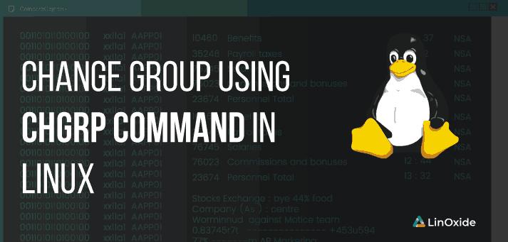 cambiar de grupo en linux