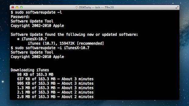 Actualiza OS X sin usar la App Store
