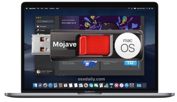 Cree una unidad USB de arranque de macOS Mojave beta de arranque