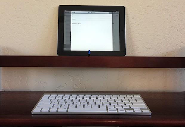Escritorio instantáneo para iPad