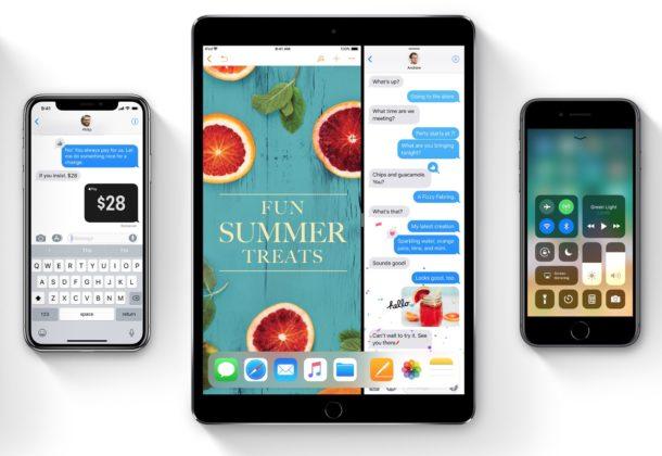 Descarga de iOS 11 GM disponible ahora