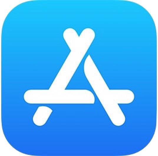 Logotipo de App Store en iOS