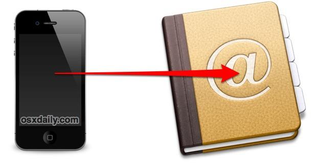 Haga una copia de seguridad de los contactos de su iPhone sin iTunes
