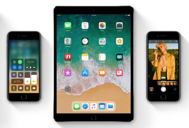 Lista de dispositivos compatibles con iOS 11