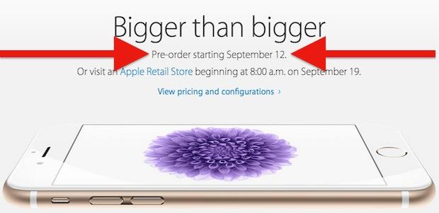 Reserva el iPhone 6