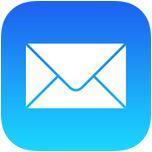 Icono de correo electrónico en iOS