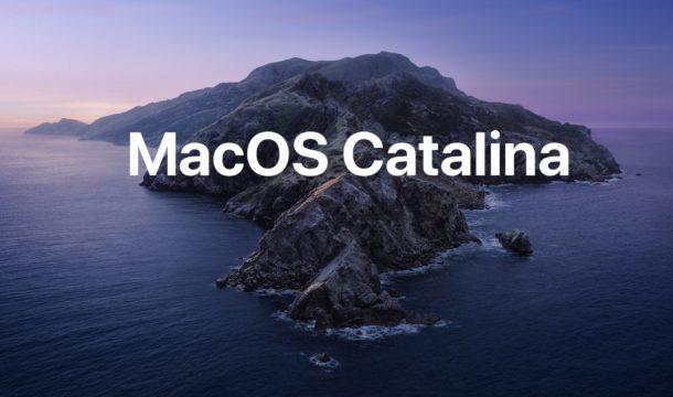 Actualización de MacOS Catalina
