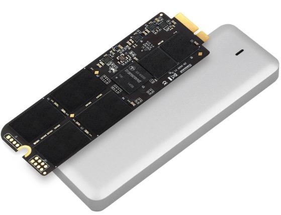 Reemplace el SSD de Transcend para MacBook Air
