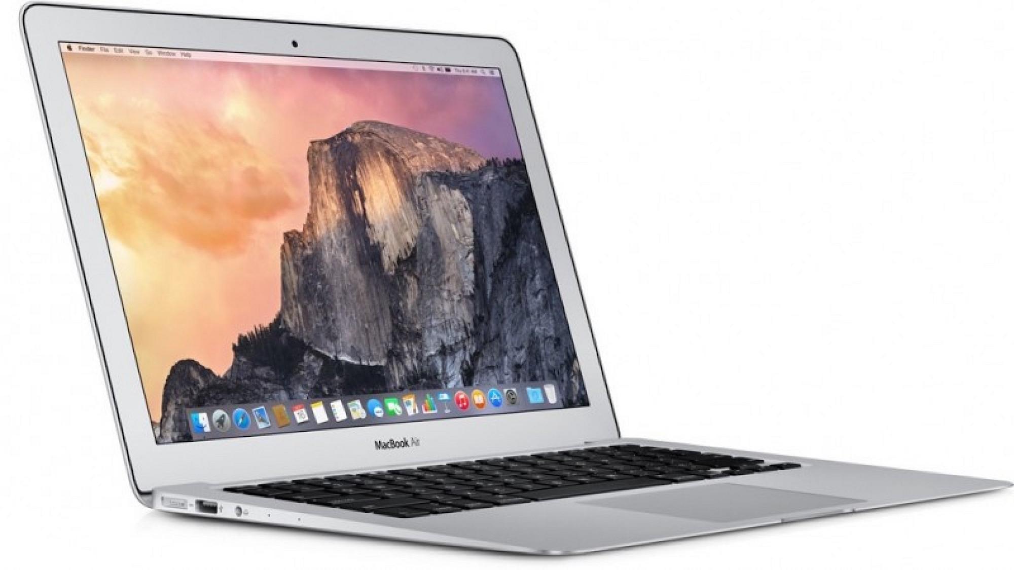 MacBook Air con SSD actualizado