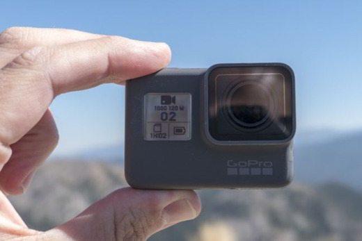 Manos de GoPro Hero5 Black