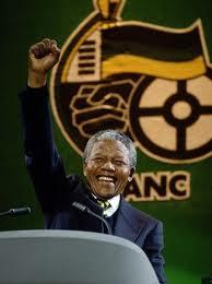 Premio Nobel de la Paz Nelson Mandela