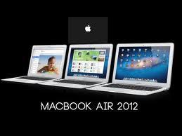 Nuevo MacBook Air 2012
