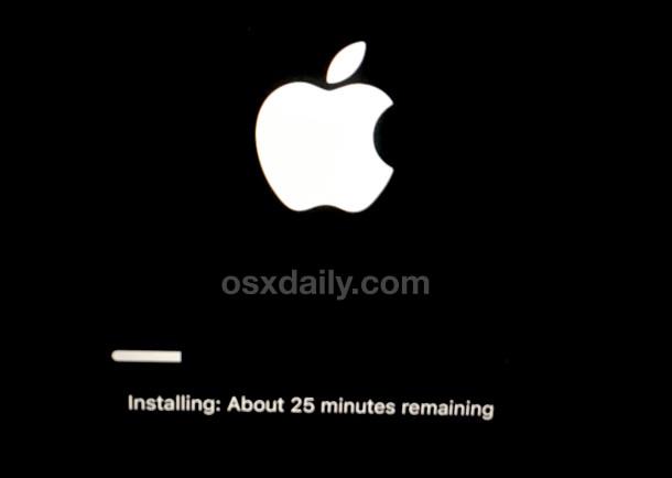 Reinstale OS X en una Mac a través del modo de recuperación