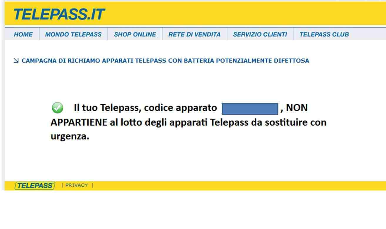 comprobar telepass