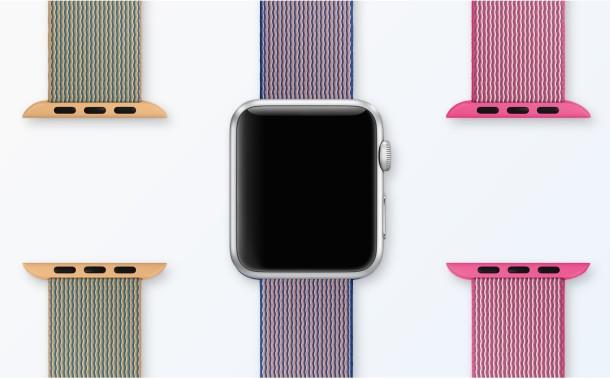 Correas de nailon para Apple Watch